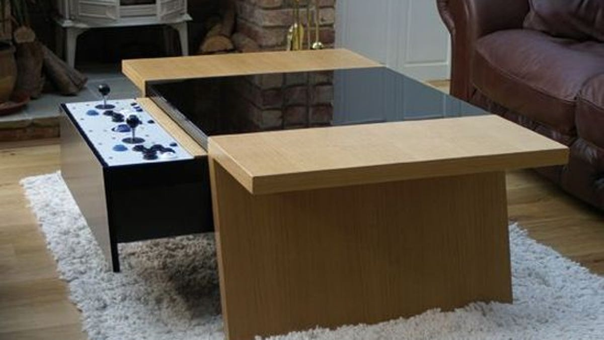 Mame Coffee Table.Coffee Table Makes Retro Gaming A Contemporary Experience