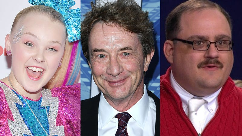 Illustration for article titled Hot Hot Hollywood: JoJo Siwa And Ken Bone Have Agreed That If They're Still Single In 300 Years They Will Both Marry Martin Short