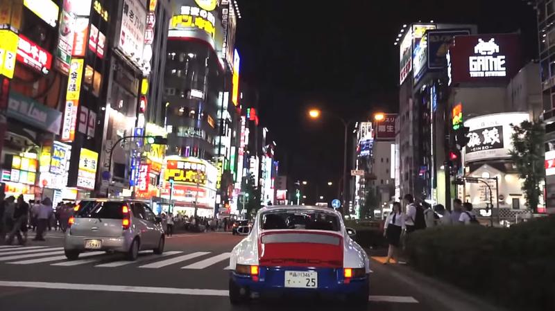 Illustration for article titled Magnus Walker Takes A 911 On Japan's Urban Highways In 'Tokyo Outlaw'