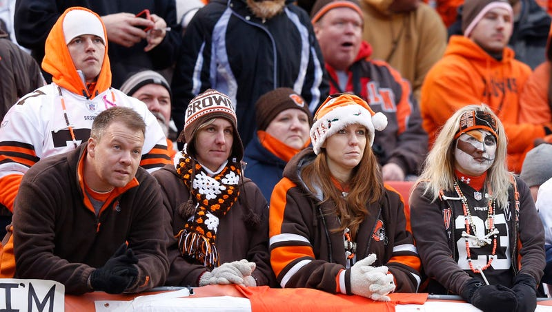 Illustration for article titled Browns Encourage Dissatisfied Fans To At Least Stick It Out Until End Of Season