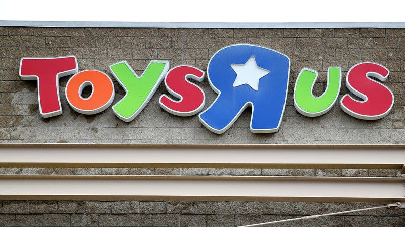 "An old Toys ""R"" Us store."