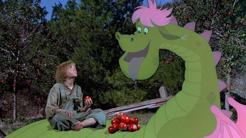 Illustration for article titled Disney realizes it hasn't remadePete's Dragonyet