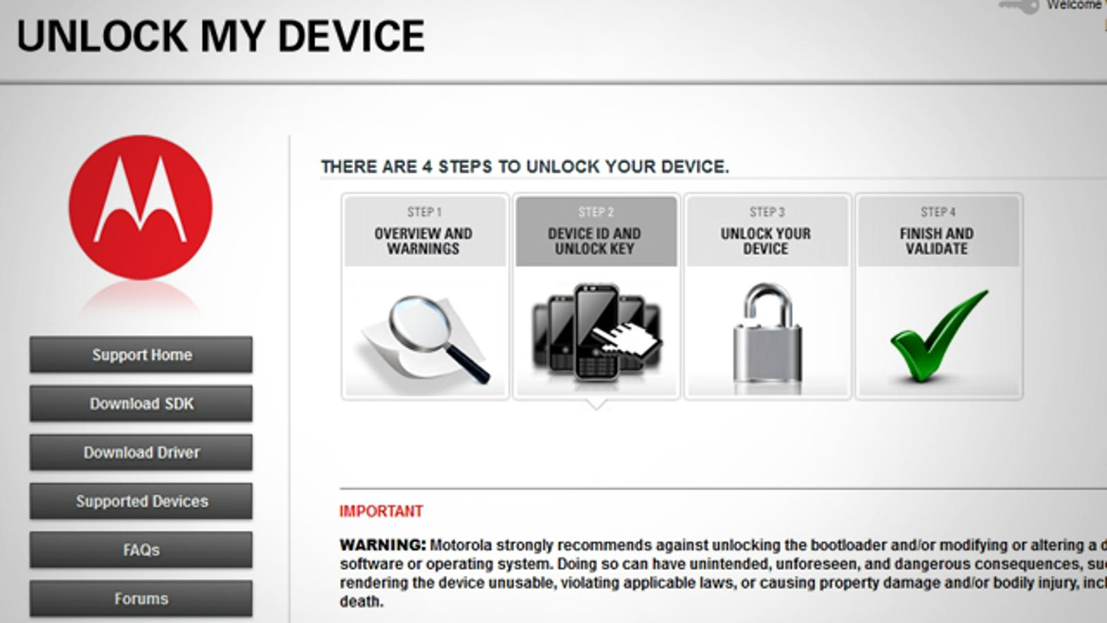Motorola Launches Official Bootloader Unlocking Tool for Android Phones