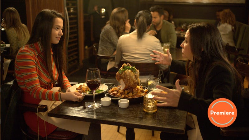 Mikey Madison and Pamela Adlon enjoy some River Roast on Better Things