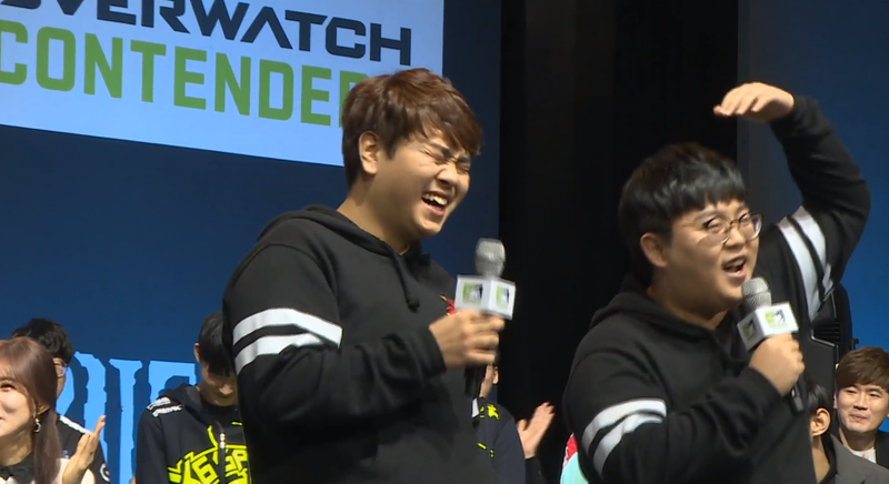 Illustration for article titled Overwatch Pros Introduce Themselves By Singing Frozen In Korean