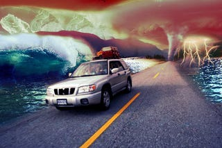 Illustration for article titled Five Tips For Staying Alive While Driving in a Flood