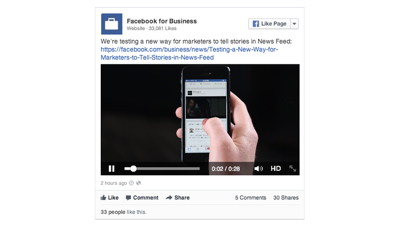 Illustration for article titled Facebook Video Ads Are Here (And This Is What They Look Like)