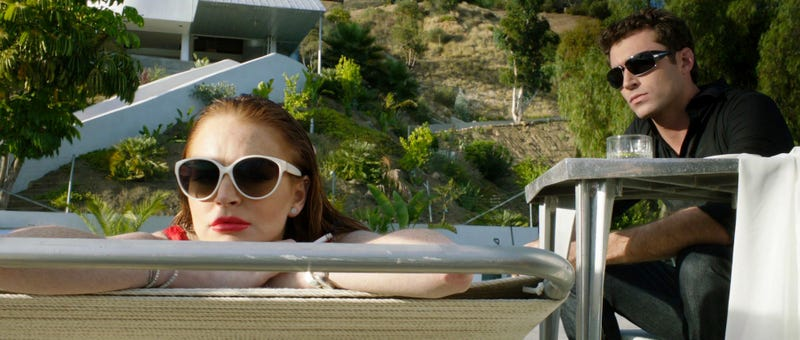 Illustration for article titled Lindsay Lohan Is the Only Part of The Canyons That Isn't Horrible