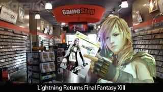 Illustration for article titled Lightning Returns Final Fantasy XIII, Literally