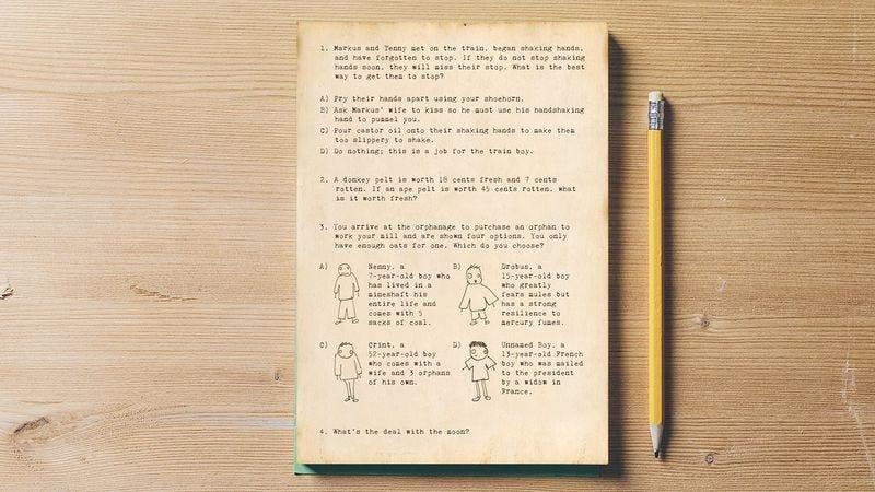 The original SAT test.