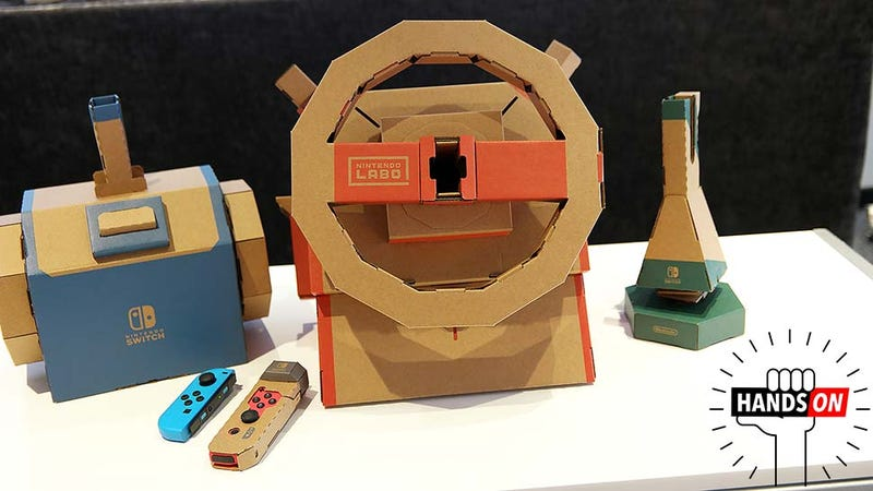 Illustration for article titled OK Fine, Maybe Nintendo's on to Something With the Labo Vehicle Kit