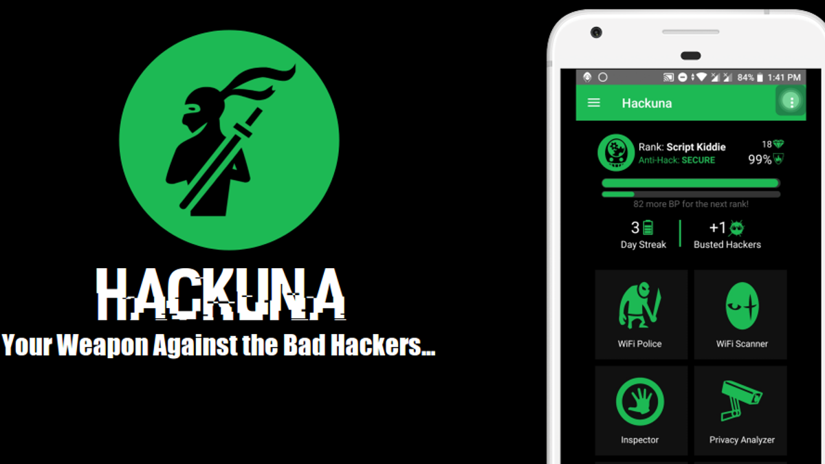 The First Mobile App to Track Hackers