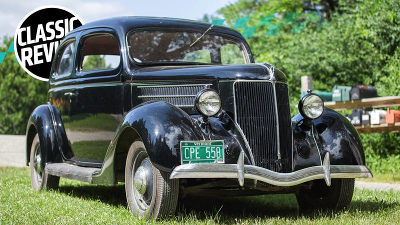 I Should Have Hit the Gym Before Driving a 1936 Ford Model 48
