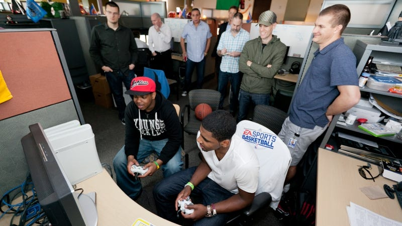 Illustration for article titled Two Years Out of the NBA, EA Sports Puts Its Live Back Together