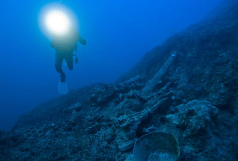 Illustration for article titled Undersea Archaeological Sites Hold Crucial Clues To Early Humans