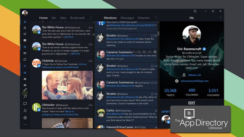 The Field Of Twitter Clients For Windows Has Been Culled Over Years But There Are Still A Few Developers Working Hard On Some S
