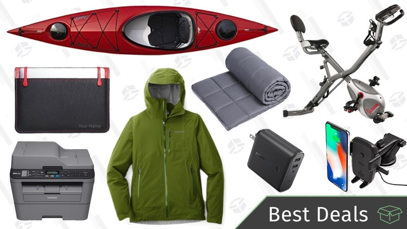 Illustration for article titled Friday's Best Deals: REI's Anniversary Sale, Weighted Blankets, Brother Printer, and More