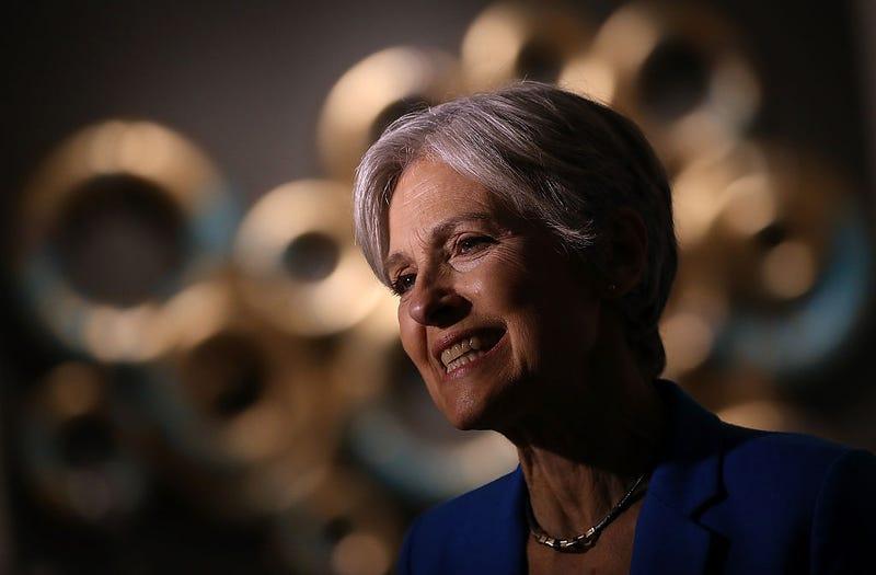 Green Party nominee Jill SteinJustin Sullivan/Getty Images