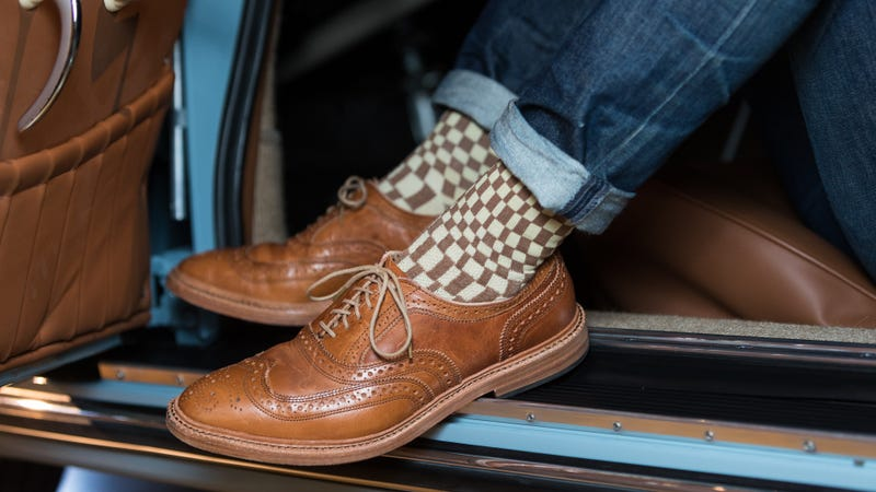 Illustration for article titled These Porsche-Inspired Socks Are The Flair You Need For Your Next Cars And Coffee
