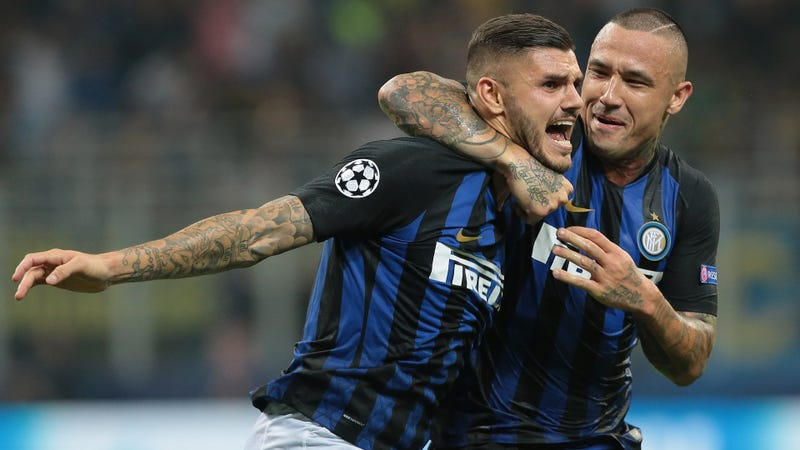 Illustration for article titled Mauro Icardi's Gut-Punch Volley Made Tottenham Puke All Over Themselves