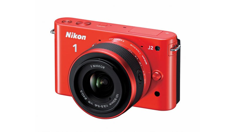 Illustration for article titled Nikon 1 J2: Nikon Updates Its Cute Beginner System Camera By Hardly Updating It at All