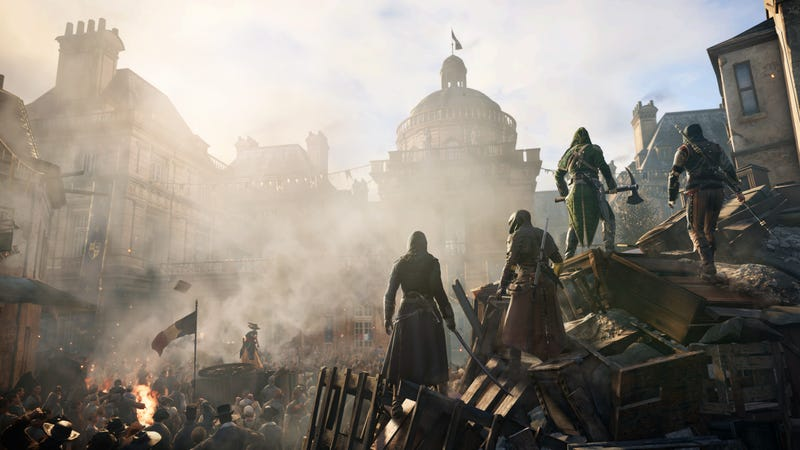 Illustration for article titled Ubisoft rechaza incluir personajes femeninos en Assassin's Creed Unity