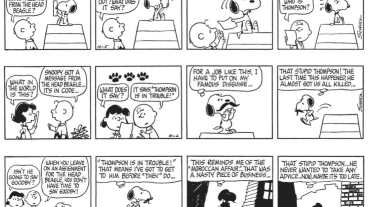 History of peanut comic strip