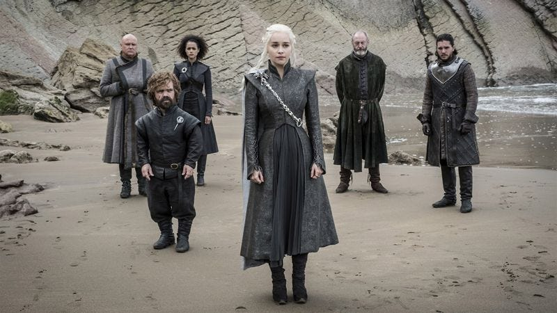 Illustration for article titled 'Game Of Thrones' Producers Reveal Series Moved Beyond Show's Written Script Halfway Through Current Season