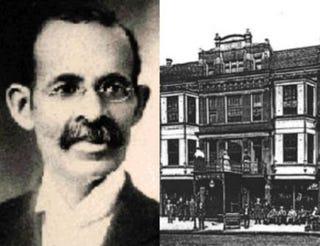 Edwin C. Berry, The Berry Hotel in Athens, Ohio (1900)SouthEastern Ohio Regional Freenet; aaregistry,org