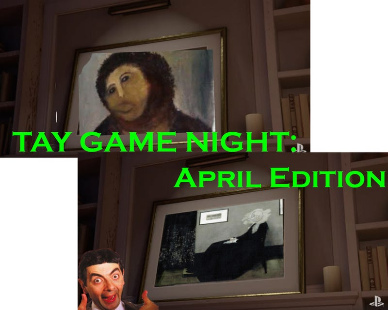Illustration for article titled TAY Game Night: April