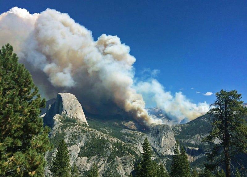 Illustration for article titled The Wildfire In Yosemite Has Swollen To Four Times Its Original Size