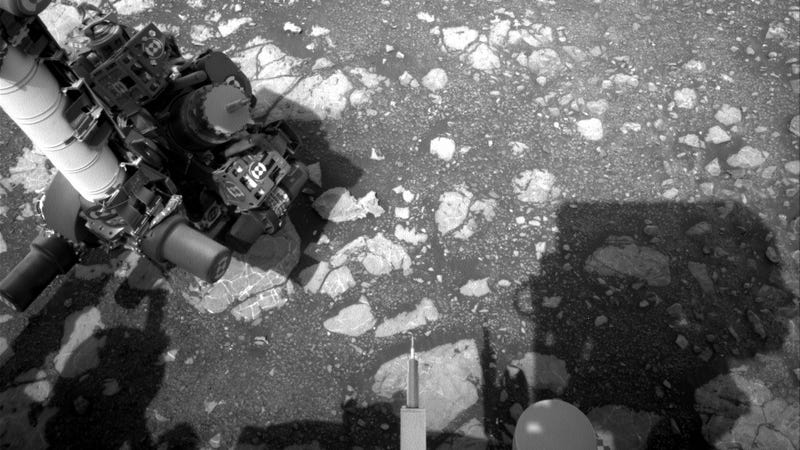 An image was taken by Navcam: Left A onboard NASA's Mars rover Curiosity on Sol 2199.