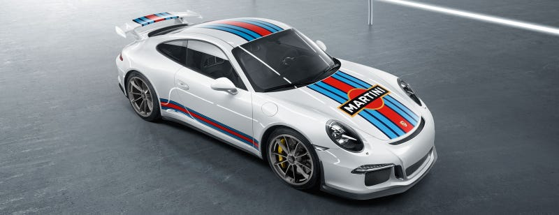 Illustration for article titled Martini Livery All The Things