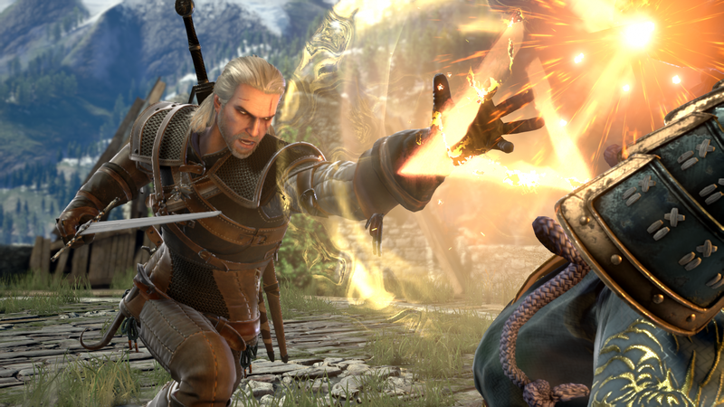 Illustration for article titled Geralt Is Coming To Soulcalibur VI