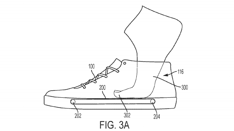 Illustration for article titled Nike Patent Imagines Shoes With Tiny Treadmills Built Into the Soles