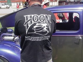 Illustration for article titled What Is A Hoon? Ask This T-Shirt