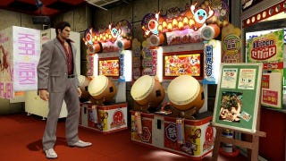 Illustration for article titled Today I Played Taiko no Tatsujin With Virtual Gangsters