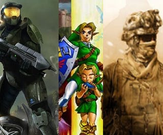 Illustration for article titled The Top 50 Video Game Franchises Of All Time, Voted By Gamers