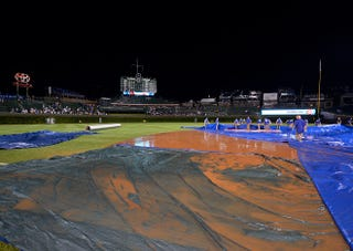 Illustration for article titled Report: Tarp Failure Due To Cubs Not Wanting To Pay For Obamacare