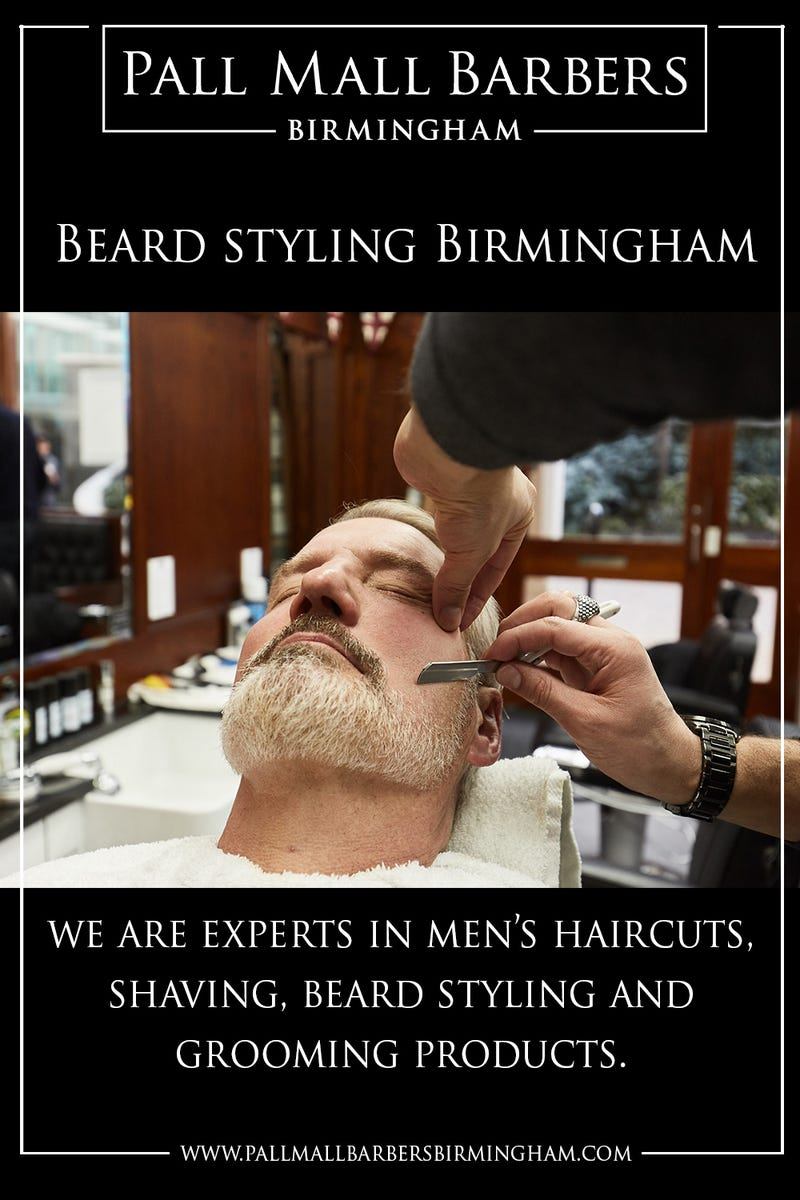 Illustration for article titled Beard Styling Birmingham | Call 01217941693 | pallmallbarbersbirmingham.com