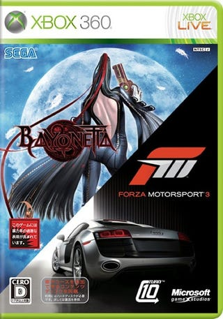 Illustration for article titled Bayonetta and Forza 3, Together At Last