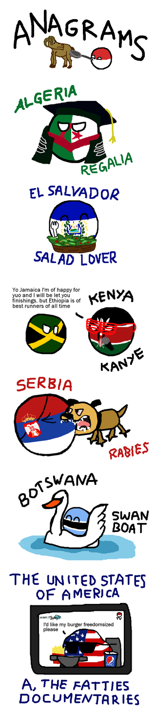 Illustration for article titled Daily Polandball: Anagrams.