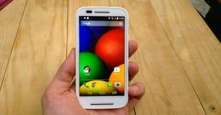 Illustration for article titled Motorola Moto E, primeras impresiones: un Android barato con estilo