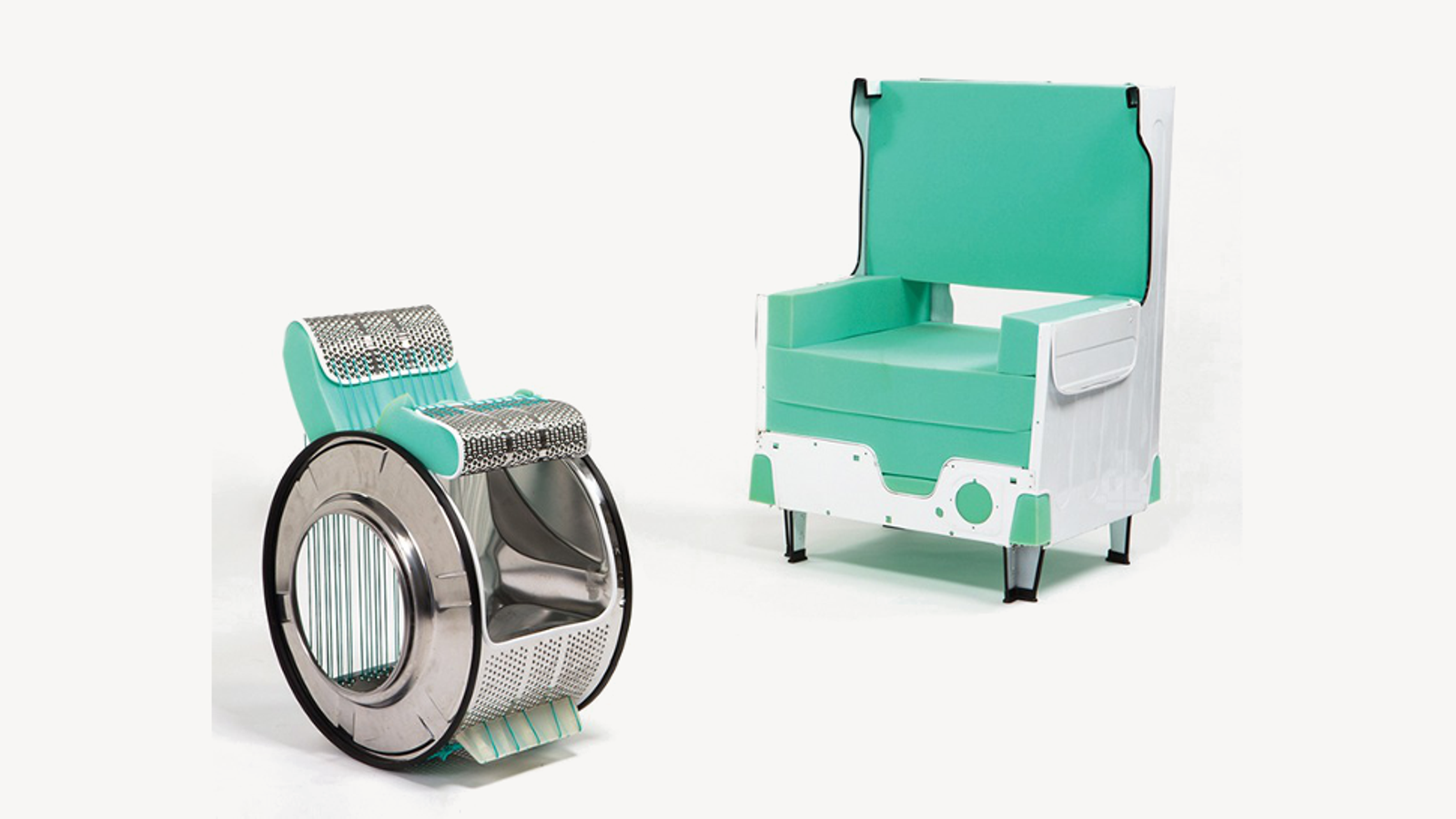 There's a Beautiful Chair Hiding in Your Washing Machine