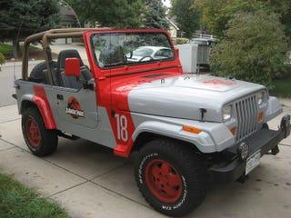 Illustration for article titled Jurassic Park Jeep