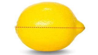 Illustration for article titled Cut Lemons Lengthwise to Get More Juice