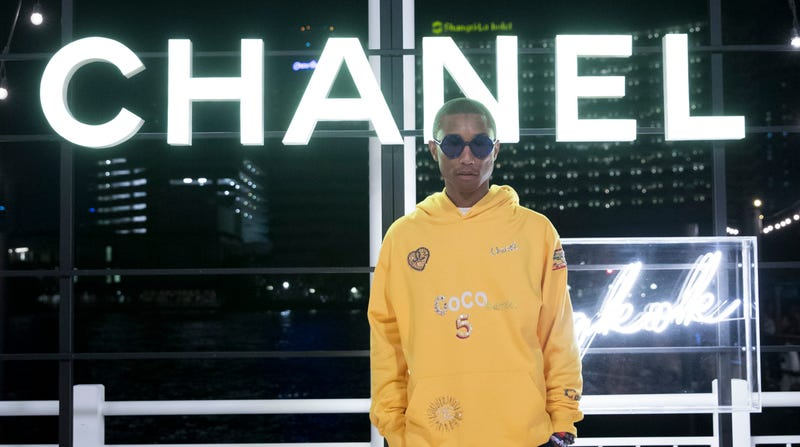 Pharrell Williams attends the Chanel Cruise 2018/19 Replica Show on October 31, 2018 in Bangkok, Thailand.