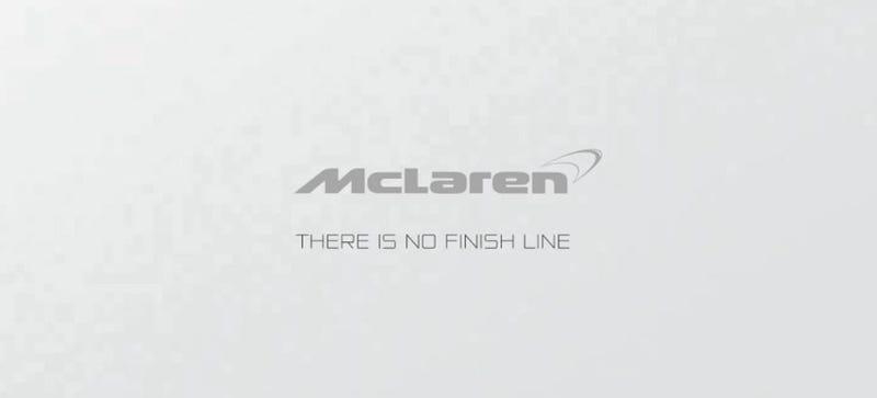 Illustration for article titled Why Is McLaren's Motto So Goddamn Bleak?