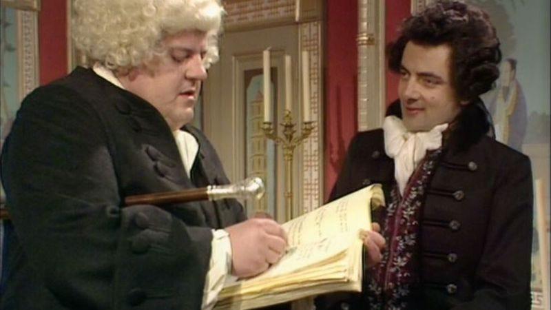 Robbie Coltrane, Rowan Atkinson (BBC)