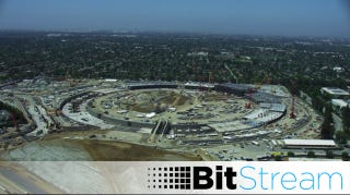 Illustration for article titled Apple's Spaceship Campus Is Finally Starting to Take Shape